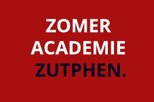 Zomer Academie Zutphen muzikale verdieping
